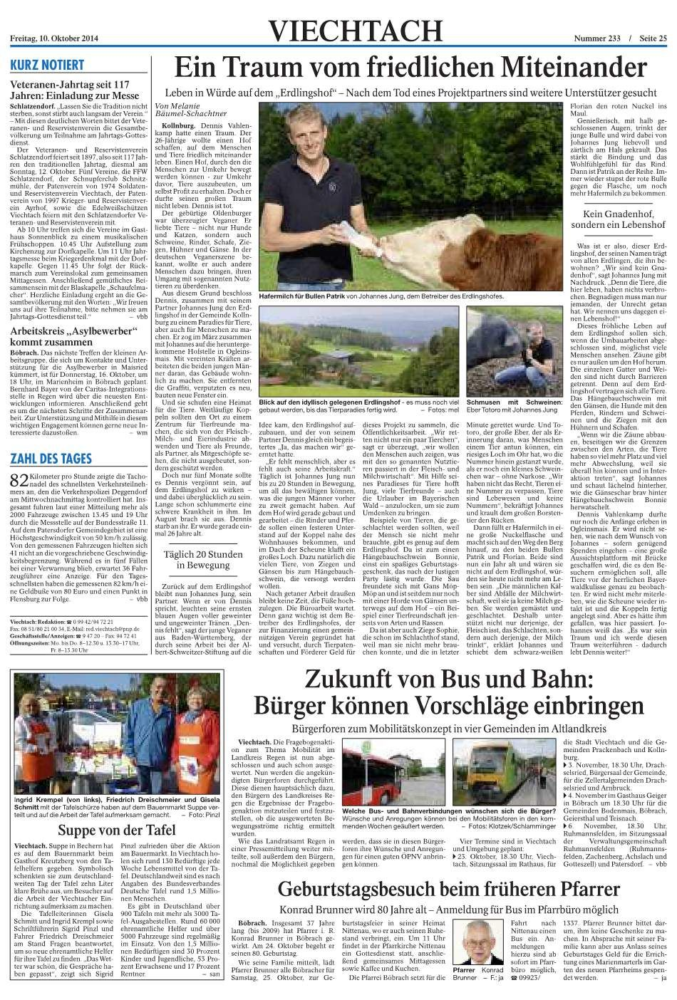 Viechtacher Bayernwald Bote 10.10.2014-p2