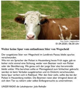 zweiter Bericht von PASSAU24.de am 01.04.2020