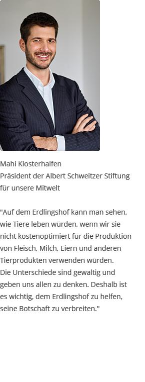 Testimonial von Mahi Klosterhalfen