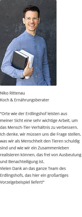 Testimonial von Niko Rittenau