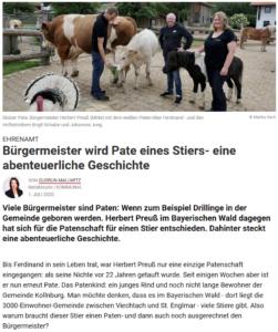 Beginn des Online-Artikels auf kommunal.de