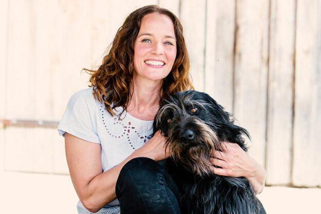 Kate Kitchenham mit Lukas vom Erdlingshof